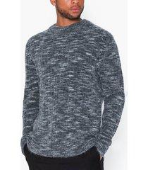 j lindeberg ibbe-fuzzy alpaca tröjor dark grey