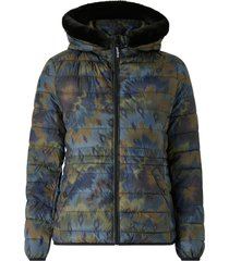 jacka padded short overcoat