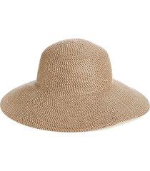 eric javits 'hampton' straw sun hat in bark at nordstrom