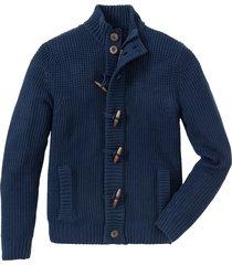 cardigan con alamari (blu) - bpc bonprix collection