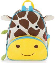 mochila zoo girafa skip hop bege