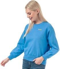 womens lady luck crew sweatshirt