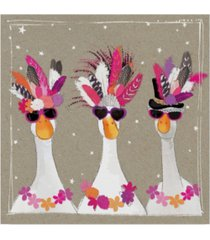 "hammond gower fancy pants bird iii canvas art - 15"" x 20"""