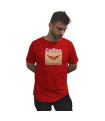 camiseta cellos cubo premium vermelho