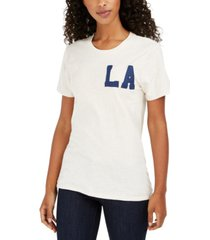 lucky brand la patch t-shirt