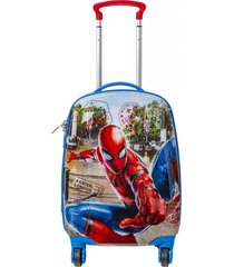 maleta 4 ruedas multicolor spiderman