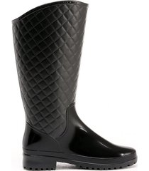 botas impermeables para mujer equitación tania negro