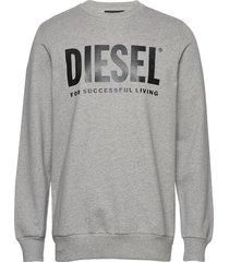 s-gir-division-logo sweat-shirt sweat-shirt trui grijs diesel men