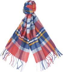 barbour fairlead check scarf