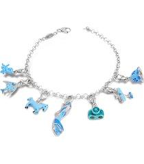 tedora designer bracelets, sterling silver blue bracelet
