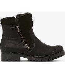 boots med fuskpäls