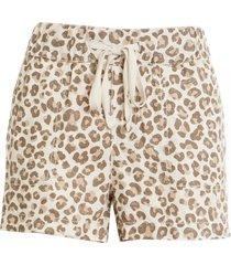 women's caslon linen shorts, size small - beige