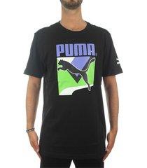 t-shirt korte mouw puma 59761456