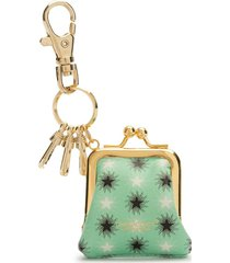 undercover star wallet key chain - green