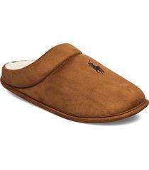 ellicott slippers tofflor brun polo ralph lauren