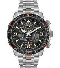 citizen eco-drive men's analog-digital promaster skyhawk a-t titanium bracelet watch 45mm