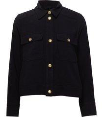 dina jacket jeansjacka denimjacka svart twist & tango