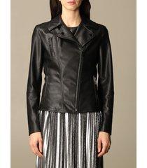 armani exchange jacket armani exchange synthetic leather jacket