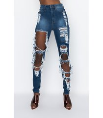akira luxe high waist distressed skinny jeans