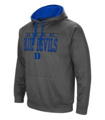 colosseum duke blue devils men's poly performance hooded sweatshirt