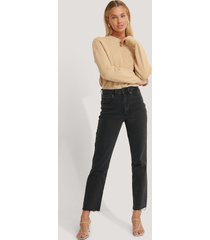 afj x na-kd jeans - black
