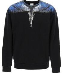 marcelo burlon wings crewneck sweatshirt