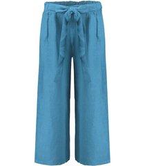 broek linnen lichtblauw