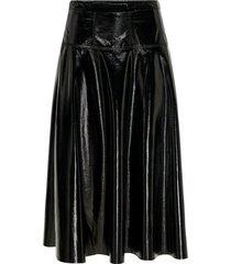 middellange rok lakleren