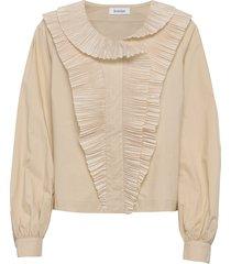arrow blouse lange mouwen crème rodebjer
