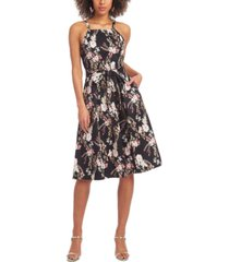 rachel rachel roy paulette printed dress