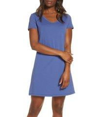 women's lusome eva sleep shirt, size x-large - blue