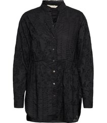 vivian shirt blouse lange mouwen zwart odd molly