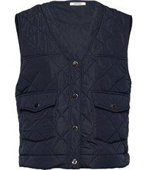 gianna waist coat vests padded vests blå nué notes