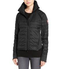 women's canada goose hybridge perren jacket, size x-small - black