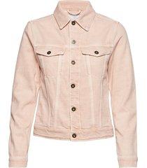 belle crls jeansjack denimjack roze j. lindeberg