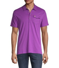 original penguin men's short-sleeve cotton polo - amparo blue - size xxl