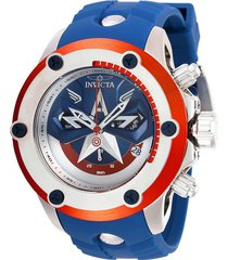 reloj acero azul marvel invicta 28420 hombres