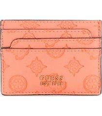 billetera bea slg card holder cor coral guess