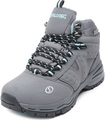 zapatilla hydra high waterproof iv gris spalding