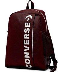 mochila bordó converse speed 2 backpack