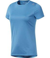 camiseta azul reebok essential tee