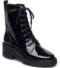 jriso_pa shoes boots ankle boots ankle boot - flat svart unisa