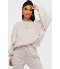 nly trend perfect chunky sweater sweatshirts light beige