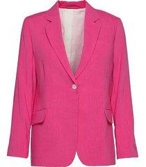 d2. stretch linen straight blazer blazers over d blazers rosa gant