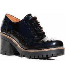 zapato negro briganti abotinado