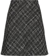 byerica skirt - kort kjol svart b.young