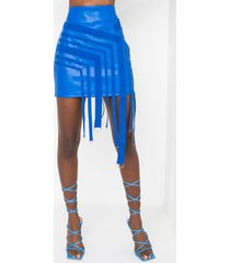 akira voir faux leather mini skirt