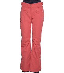 qst snow pant w sport pants roze salomon