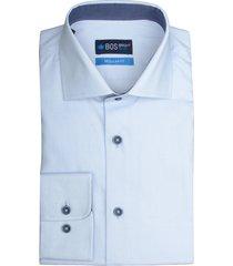 bos bright blue blue wesley dressual shirt 19306we09bo/210 l.blue licht blauw
