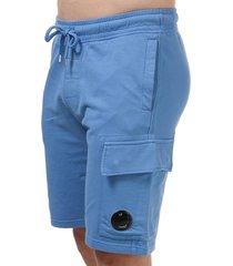 mens lens fleece shorts